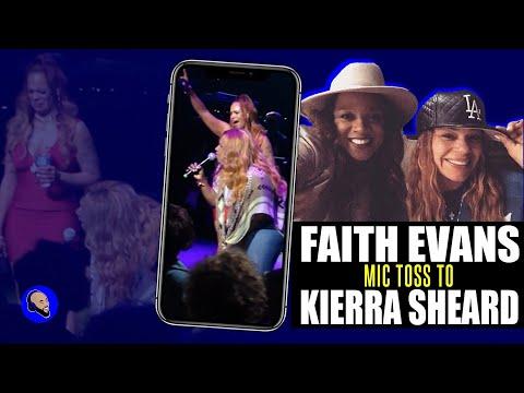 "Faith Evans ""Tears Of Joy"" reprise featuring Kierra Kiki Sheard Live in Detroit 2015"