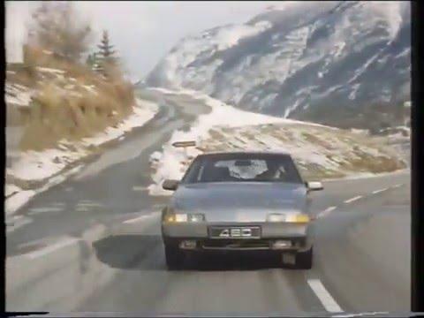 Volvo 480 ES Driving Properties