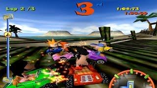 Toon Car ::: Championship Mode ::: LONGPLAY ᴴᴰ ::: PC