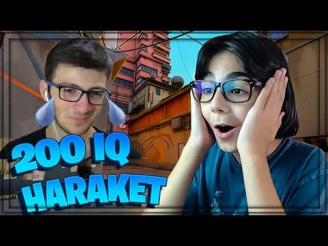 200 IQ HAREKET (ağladı) | Valorant