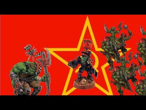 Warhammer 40 000 LORE -  Zelenokožci a Gorkamorka