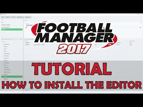 In-game editor not appearing in game :: Football Manager