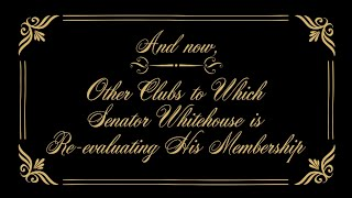 Senator Whitehouse Is A Member Of Some Interesting Clubs... thumbnail