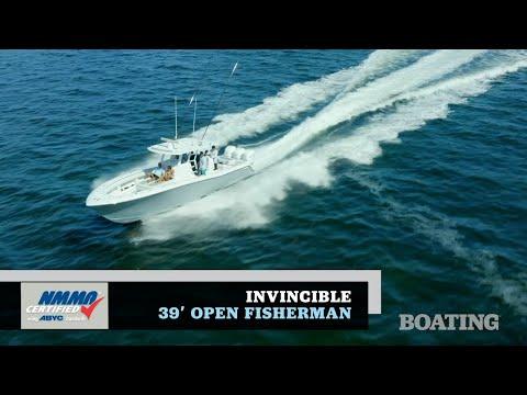 Invincible 39 Open Fisherman video