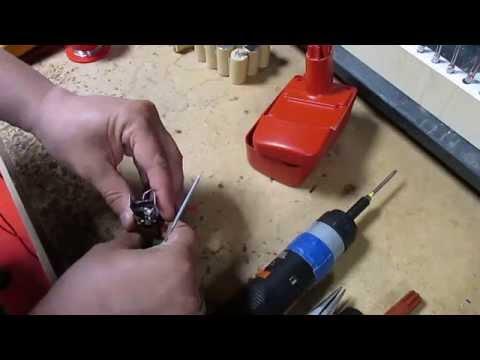 Akkureparatur - Zellentausch - Kress ABS 156 - Sub C - 15,6 Volt Akku