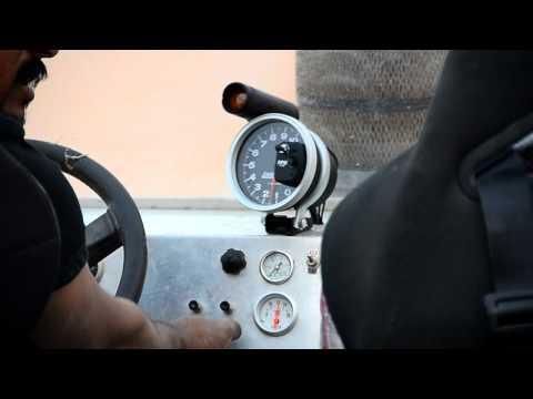 تجربة سيارة الشيخ/عبد العزيز الحميدي V8