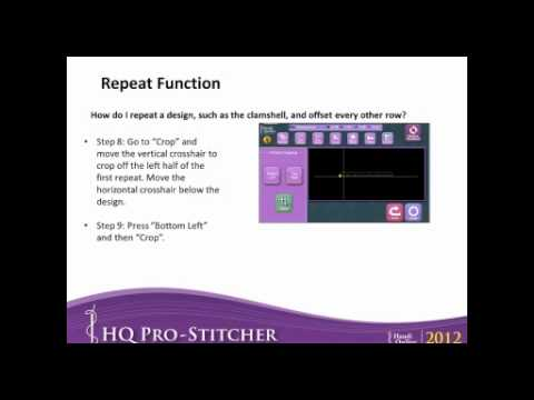 HQ Pro-Stitcher (June Webinar)