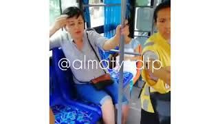 В Алматы водитель автобуса потребовал оплату с пятилетнего ребенка