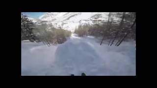 ド迫力!!スキーアクロバットで華麗な技!