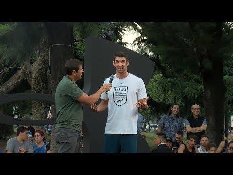 Michael Phelps en Argentina