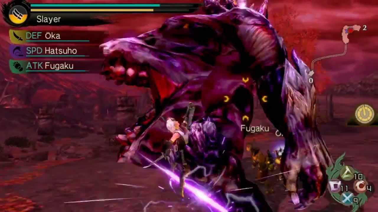 Toukiden: The Age of Demons ab heute für PS Vita erhältlich