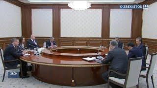 Ўзбекистон Республикаси Президенти Америка – Ўзбекистон савдо палатаси делегациясини қабул қилди