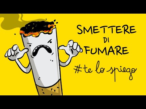 Come smettere di fumare per mostrare il video