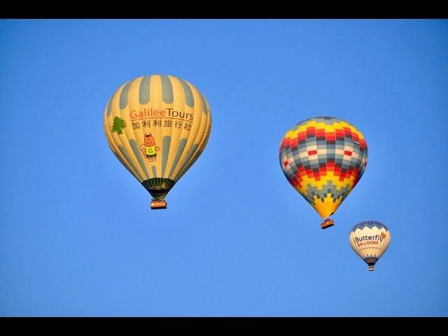 土耳其★熱氣球升空縮時超療癒