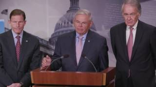 Sen. Menendez Responds to Questions on Blocking Trump Attempt to Expand Offshore Drilling