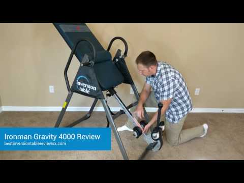 Review: Ironman 4000 Inversion Table
