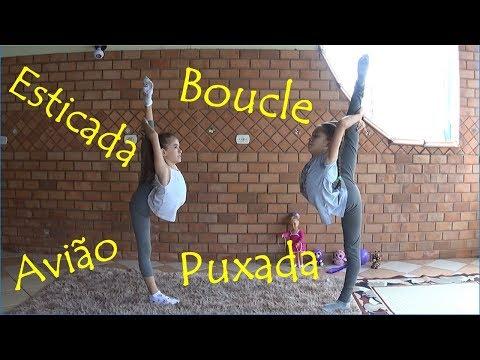 039. Como fazer Boucle, Puxada, Esticada, Avião Ginástica Rítmica - How to do Ring Pivot