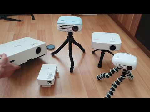 Welcher ist ein idealer Beamer / Projektor? von 100 bis 2600 Ansi Lumen Led Licht Test Vergleich