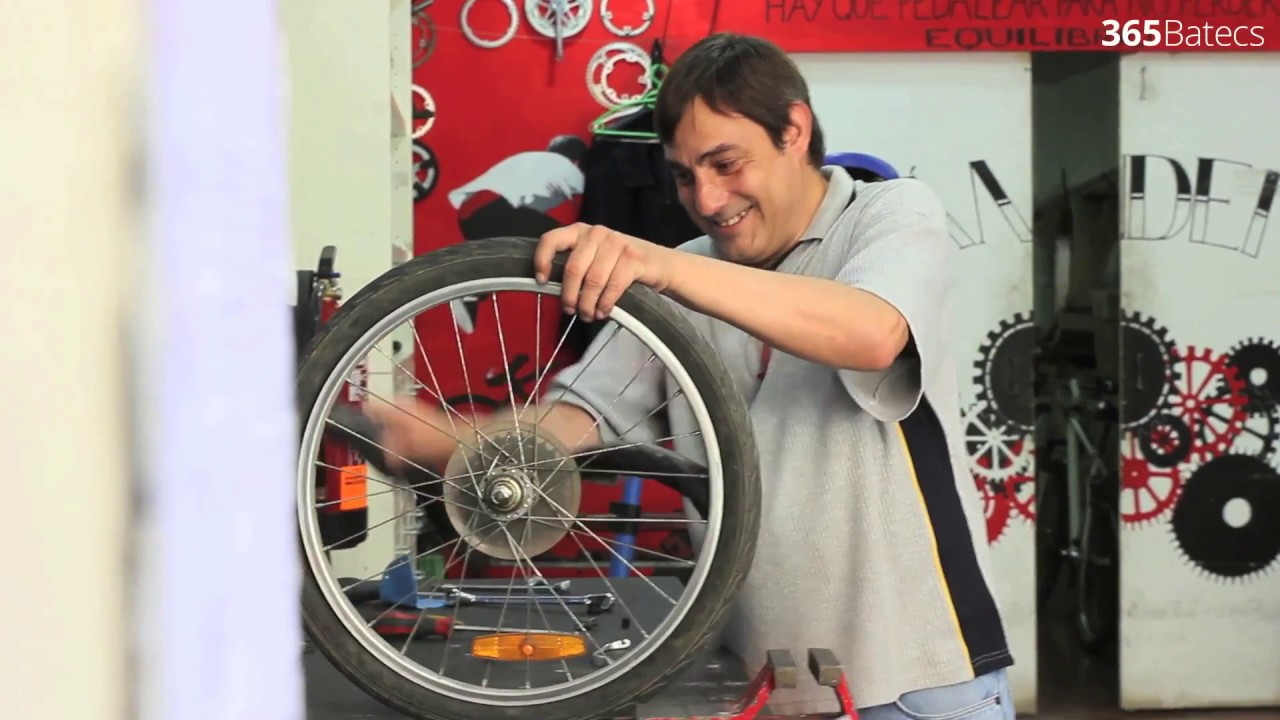 Fixing bicycles to keep the balance