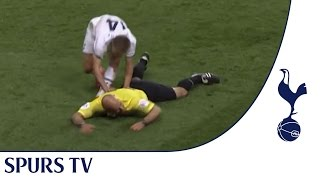 Lewis Holtby takes out Howard Webb