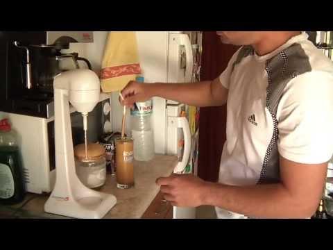 how to make greek frappe (ORIGINAL GREEK)
