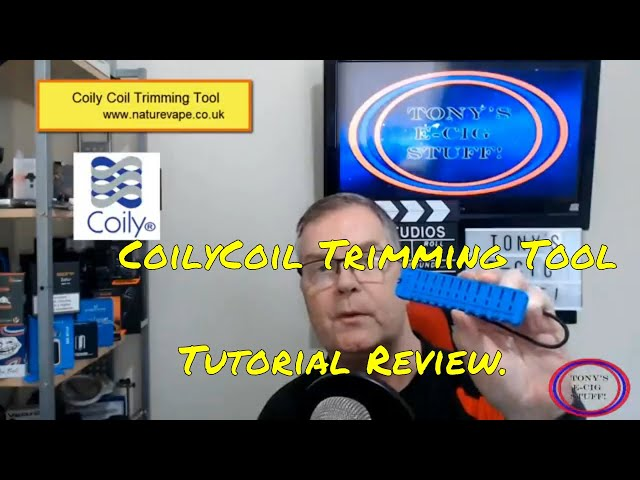 Coily Coil Trimming Tool Tutorial & Review