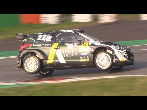 Monza Rally Show 2018 Best of WRC 1.6-i20, i20 New Generation, Fiesta & DS3