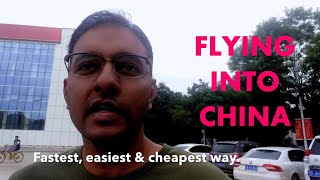 Flying into China   Fly ANYTHING Land ANYWHERE   Malaysian Expat in China