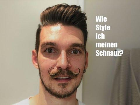 Bartpflege: Wie style ich meinen Mustache - Kaiserschnauz - Handlebar Moustache