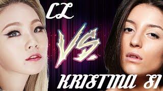 CL (Korea) vs KRISTINA SI (Russia) || РЭП-батл #2