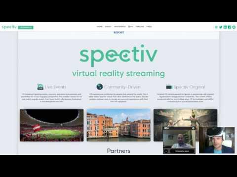 BITCOIN  Рынок На $95 Миллиардов   Прямые Трансляции Виртуальнйо Реальности VR На Блокчейне Обзор Sp