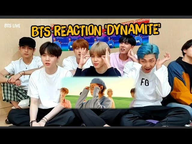 B T S || REACTION TO 😅 DYNAMITE