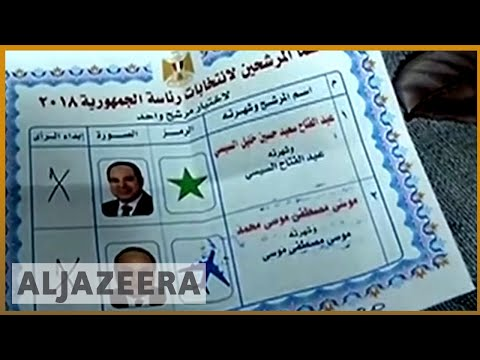 🇪🇬 El-Sisi wins Egypt election with 92 percent: state media | Al Jazeera English
