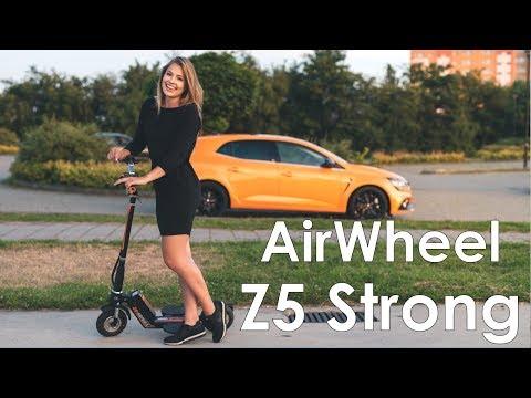 Hulajnoga elektryczna AirWheel Z5 Strong - pogromca Xiaomi Mijia? Test, recenzja