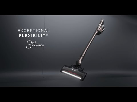 Miele Upright Cleaner HX1PRO - Infinity Grey Pearl Finish Video 1