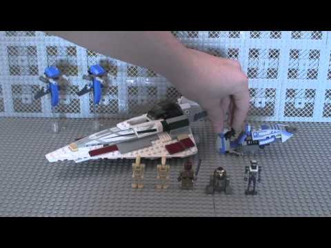 LEGO Star Wars CloneArmyCustom Clone Wars ARC Troopers Review