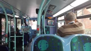 preview picture of video 'Journey on the 406 (ADE45 YX62BZS) Alexander Dennis Enviro 400 10.2m'