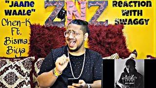 Jaane Waale | Chen-K Ft. Bisma Biya | Urdu Rap | Reaction Video | Swaggy | SQuaD ZNZ