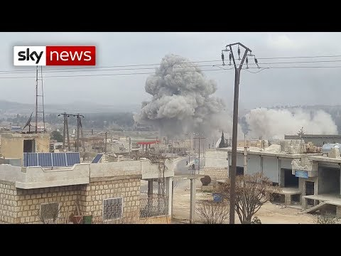 Download Exclusive: Syrian forces bomb hospitals in Idlib Mp4 HD Video and MP3
