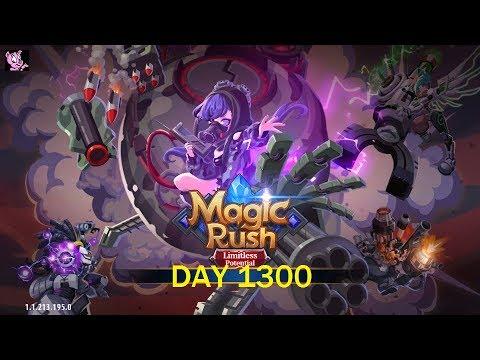 Magic Rush: Heroes - Day 1300 (Hamton Lv.101 VIP4 at Merger 804)
