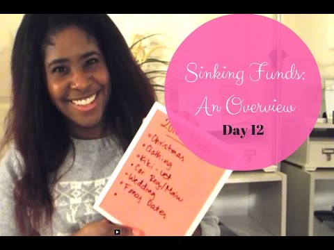 Sinking Funds: An Overview {25 Days of Budgets, Day 12}