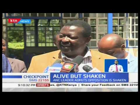 Mudavadi: Opposition is shaken but still alive