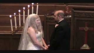William and Angela Bruce Sing The Prayer at the Bruce-Azevedo Wedding