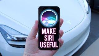 Hey Siri, Drive My Tesla (How To Use iPhone