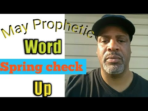 May prophetic word- Time to Bloom