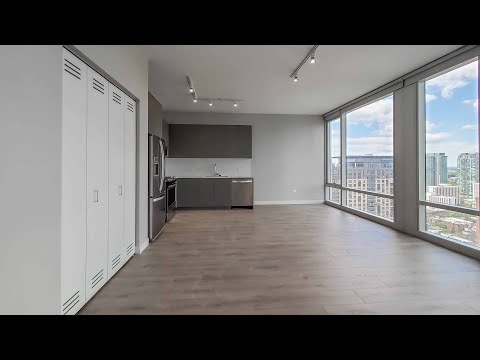 A River North 1-bedroom WA7 at 23 West Apartments at One Chicago