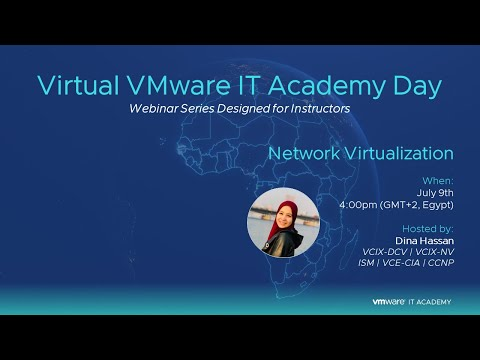Virtual IT Academy Day + Network Virtualization with NSX - YouTube