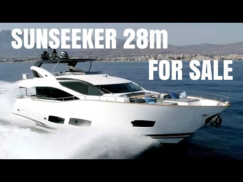 Sunseeker 28m Yacht For Sale – Walk Through Video