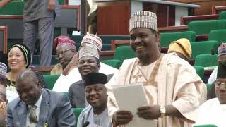 Hon Kazaure Muhammed Gudaji,4 July 2019   Motion on need for the FG to revisit the salaries and enti