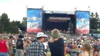 Josh Turner - All Over Me @ Country Thunder 2011